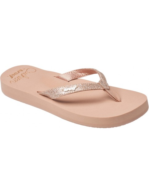 Reef Star Cushion Flip Flops in Almond