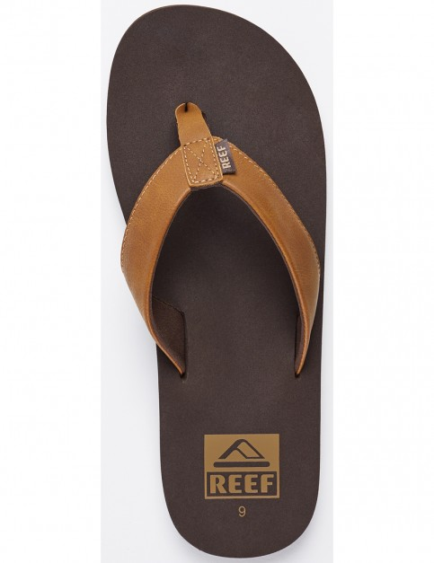 Reef Twinpin Flip Flops in Brown