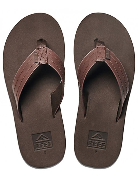 Reef Voyage Flip Flops in Brown