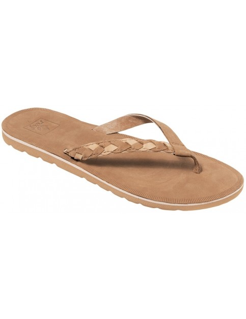 Reef Voyage Sunset Flip Flops in Caramel