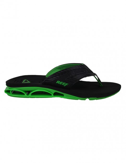 Black Green Reef X-S-1 Sport Sandals