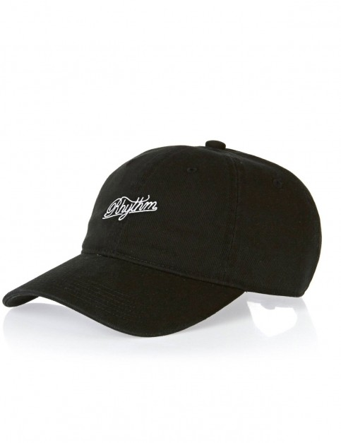 Rhythm Basic Cap in Black