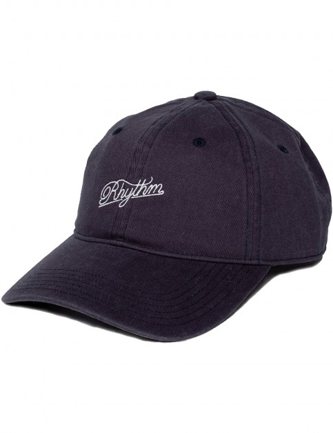 Rhythm Basic Cap in Vintage Black