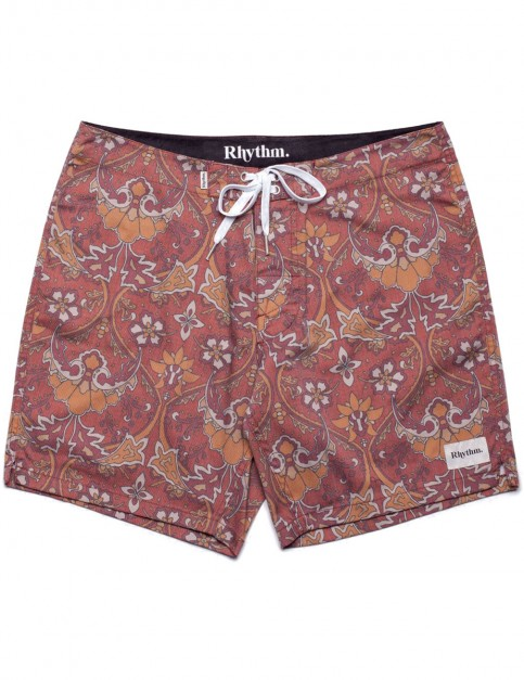 Rhythm Garden Rug Chino Shorts in Coffee