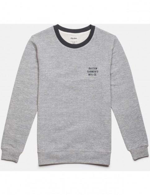 Rhythm Leon Sweatshirt in Vintage Grey