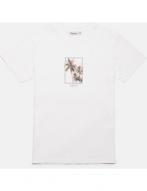 Rhythm Pacifica Short Sleeve T-Shirt in White
