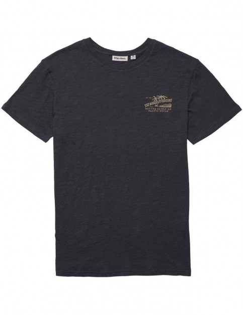Rhythm Postcard Short Sleeve T-Shirt in Charcoal