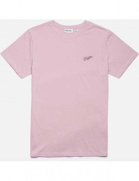 Rhythm Script Short Sleeve T-Shirt in Musk