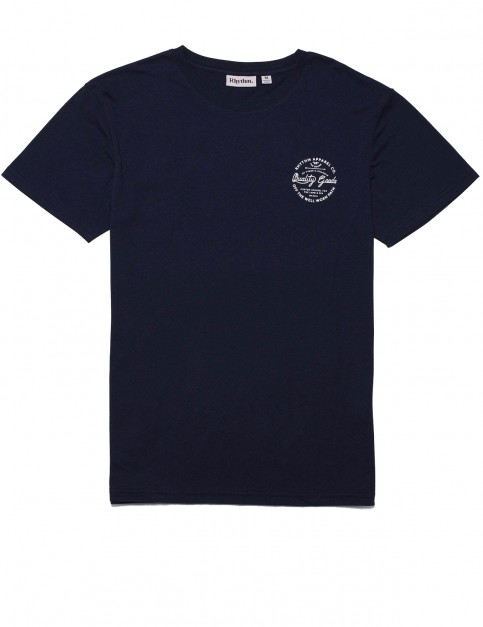 Rhythm Seal Short Sleeve T-Shirt in Navy