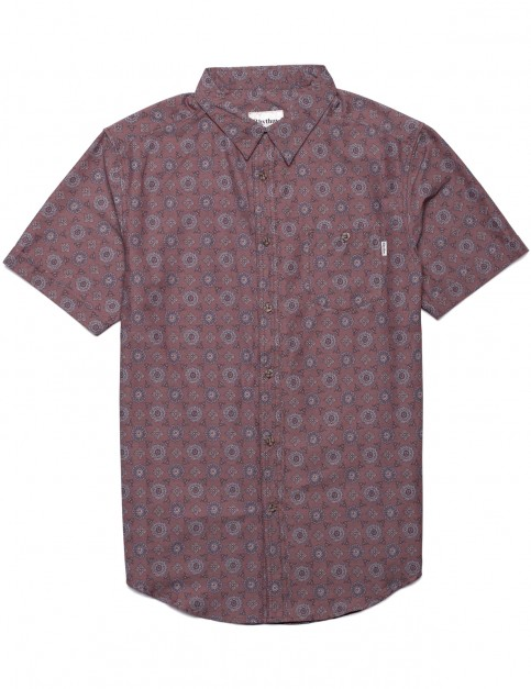 Rhythm Sonoma Short Sleeve Shirt in Henna