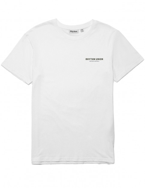 Rhythm Union T-Shirt Short Sleeve T-Shirt in White