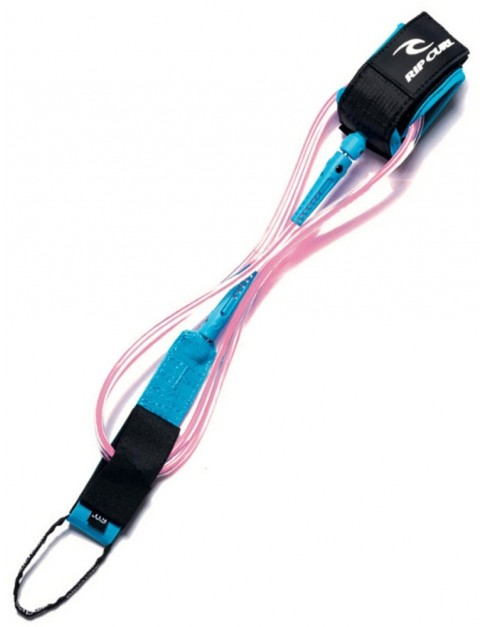 Rip Curl 6'0 Comp Leash Fun Stuff in Pink
