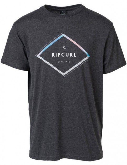 Rip Curl A-Frame Short Sleeve T-Shirt in Dark Marle