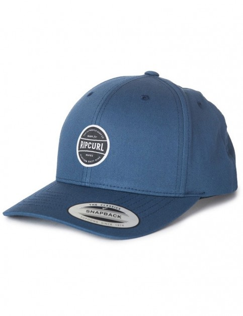 Rip Curl After Session Snapback Cap in Blue Indigo