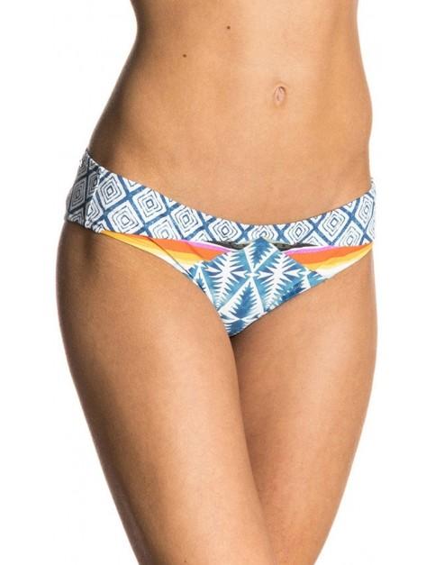Rip Curl Beach Bazaar Classic Pant Bikini in Blue