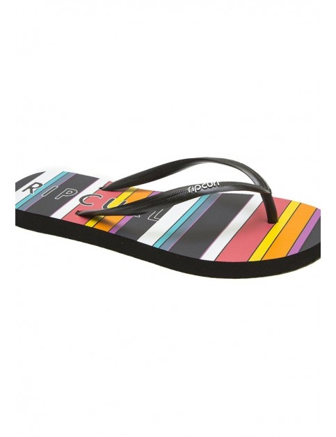 Rip Curl Beach Bazarr Flip Flops in Black