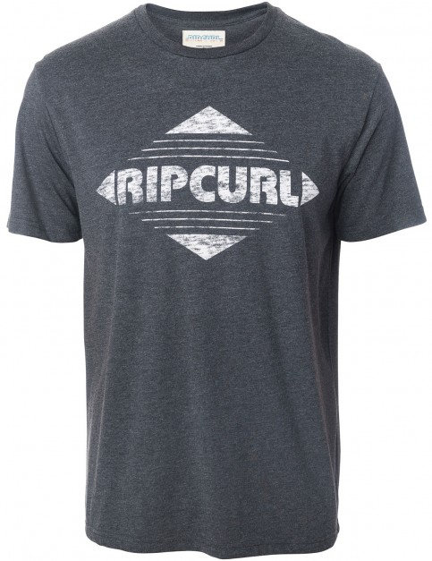 Rip Curl Big Mama Diamond Short Sleeve T-Shirt in Dark Marl