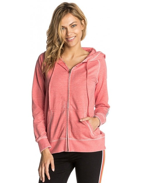 Rip Curl Big Mama Zipped Hoody in Fragola