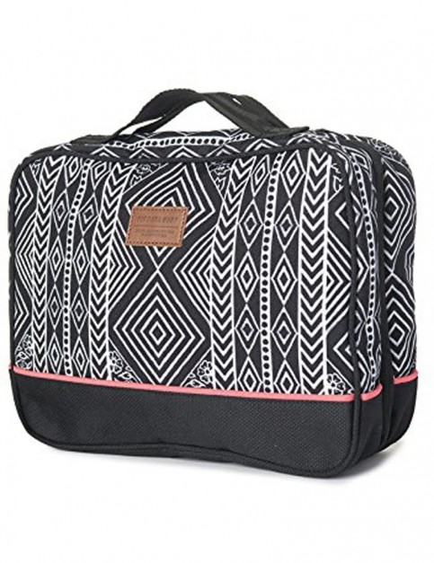 Rip Curl Black Sand Beauty Case Wash Bag in Black