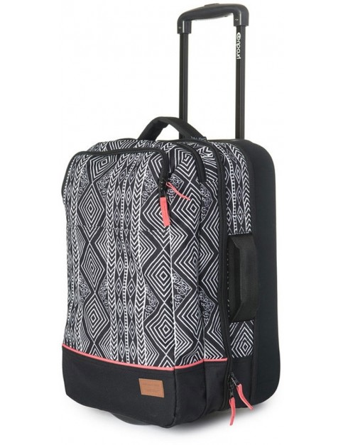 Rip Curl Black Sand Cabin Wheeled Luggage in Black