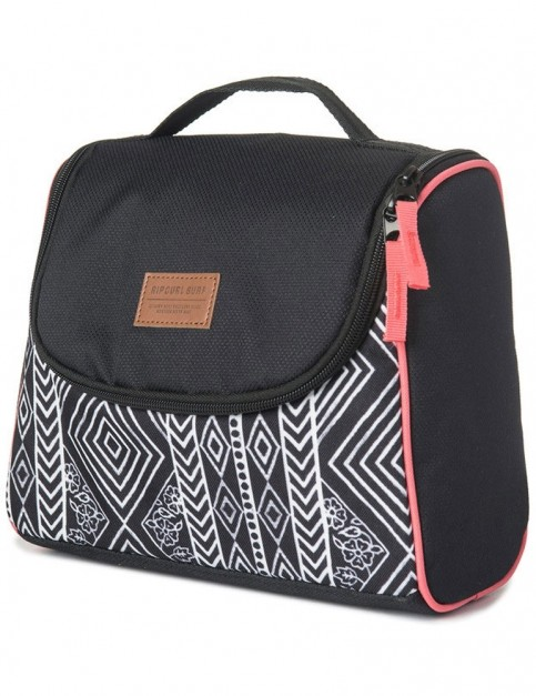 Rip Curl Black Sand Vanity Wash Bag in Black