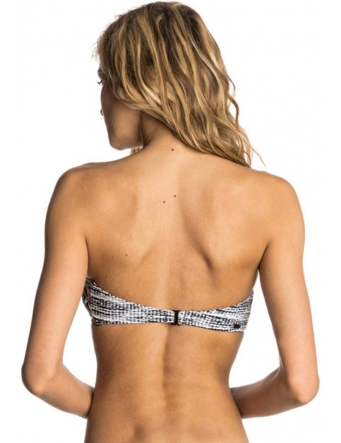Rip Curl Black Sands Bandeau Bikini in Black