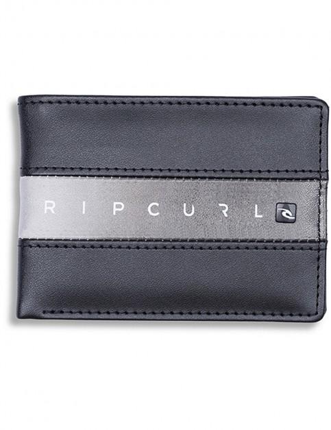 Rip Curl Blockade PU Slim Faux Leather Wallet in Black