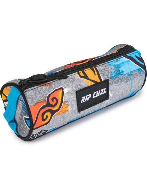 Rip Curl Brush Stokes Pencil Case in Blue