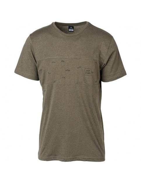 Rip Curl Busy Surf Day Short Sleeve T-Shirt in Sea Turtle Marl
