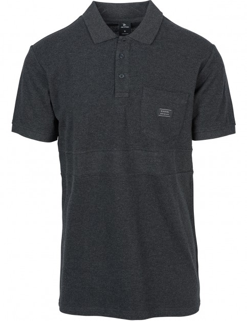 Rip Curl Captain Polo Shirt in Dark Marle