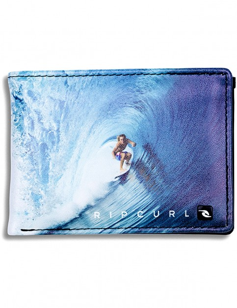Rip Curl Capture PU Slim Faux Leather Wallet in Blue