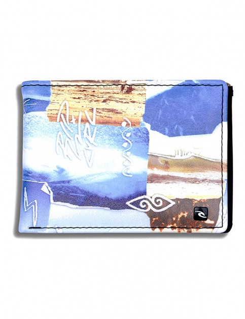 Rip Curl Capture PU Slim Faux Leather Wallet in Multico
