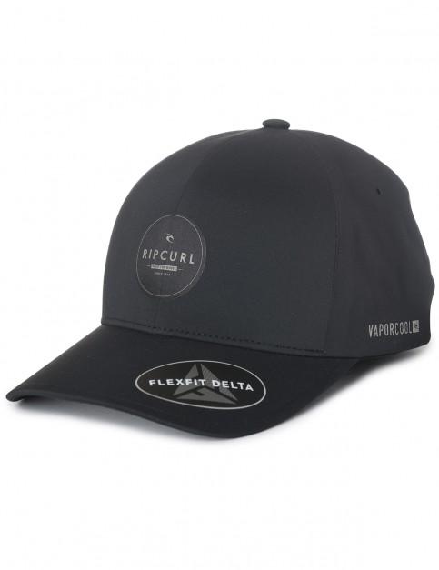 Rip Curl Carver Vaper Cool Cap in Black