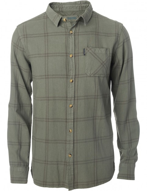 Rip Curl Check Shirt Long Sleeve Shirt in Dusty Olive