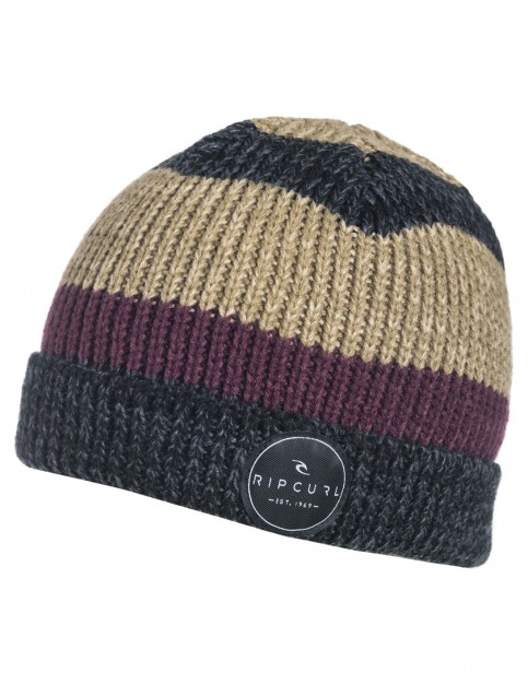 Black Rip Curl Chill Out Beanie