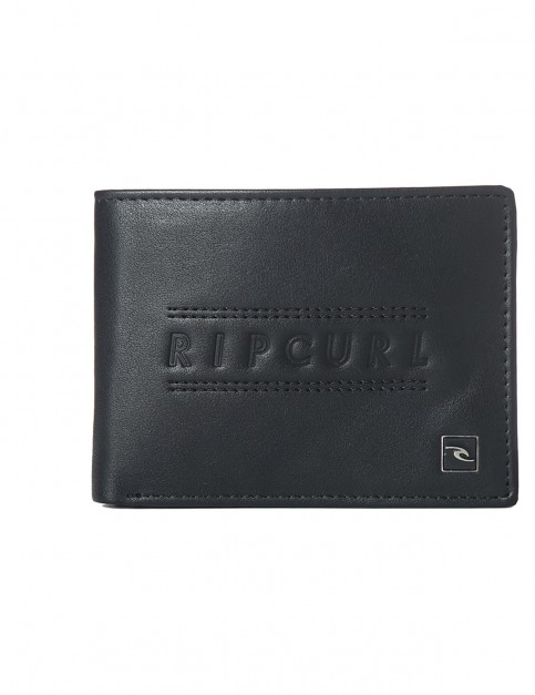 Rip Curl Classic PU All Day Faux Leather Wallet in Black