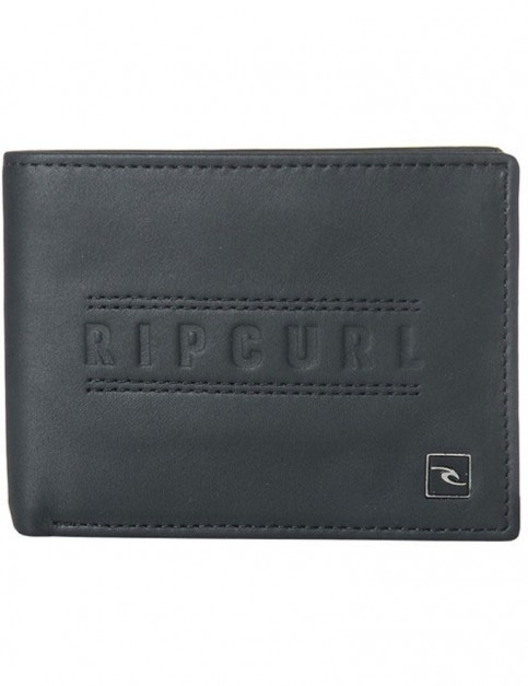 Rip Curl Classic RFID All Day Leather Wallet in Black