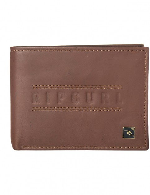 Rip Curl Classic RFID All Day Leather Wallet in Brown