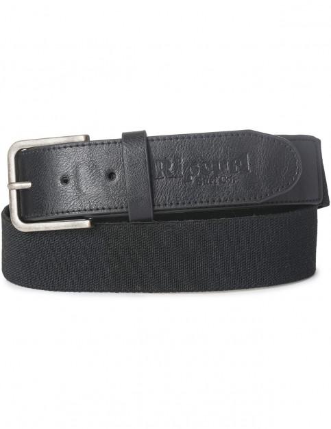 Rip Curl Classy Webbing Belt in Black
