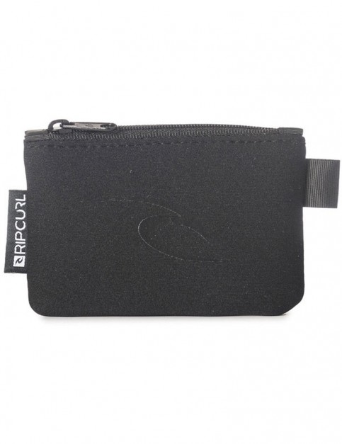 Rip Curl Coin Purse Polyester Wallet in Black