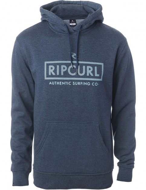 Rip Curl Corp Bloc Pullover Hoody in Night Sky