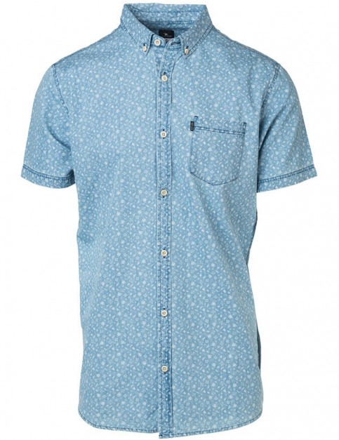Rip Curl Dab Short Sleeve Shirt in Night Sky