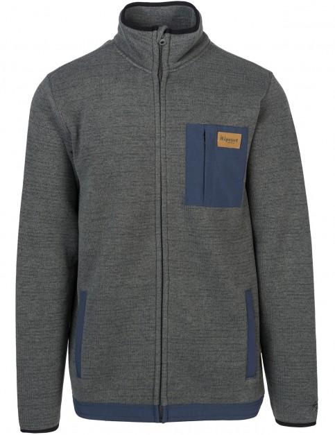 Rip Curl Dawn Line Anti-Series Polar Jacket in Charcoal
