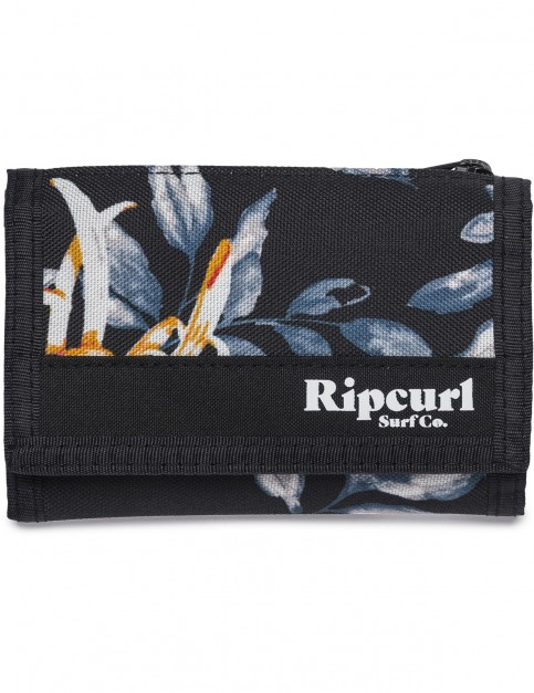 Rip Curl Desert Flower Surf Polyester Wallet in Black