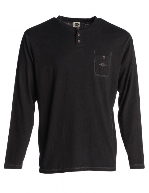 Rip Curl Diamond Icon Long Sleeve T-Shirt in Phantom Brut