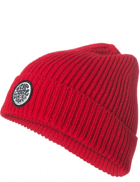 Rip Curl Dna Beanie in Red