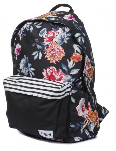 Rip Curl Dome Desert Flower Backpack in Black