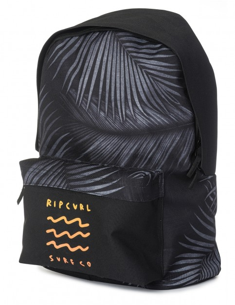 Rip Curl Dome Glow Wave Backpack in Black