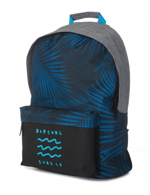 Rip Curl Dome Glow Wave Backpack in Blue