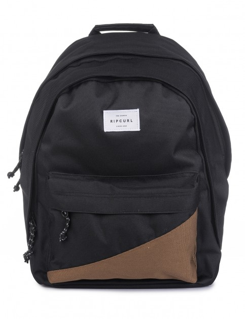 Rip Curl Double Dome Cali Backpack in Black
